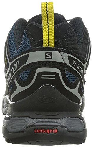 Salomon X Ultra 2, Chaussures de randonnée à tige basse homme multicolore (Fjord/Black/Ray)
