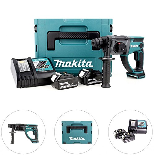 Makita Dhr202Rtj - Martillo ligero 20mm 18v litio