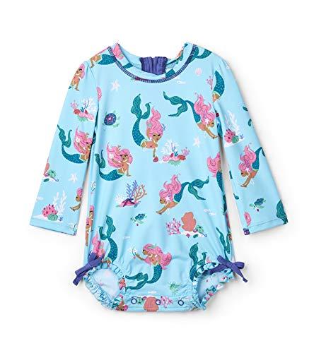 Hatley Rash Guard Swimsuits Maillot Une pièce, (Mermaid Tales), (Taille Fabricant: 12-18 Mois) Bébé garçon