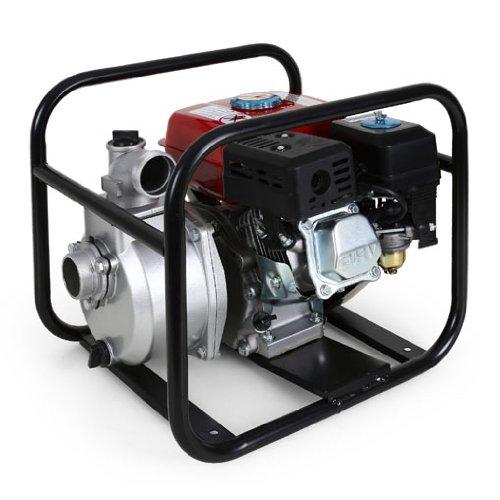 EBERTH 5,5 PS 2 Zoll Wasserpumpe Benzin Motor Pumpe - 3