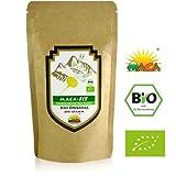 Poudre de Maca 200 g Biologique Aliment superbe de qualité prime, Convient aux végétariens et aux végétaliens Riche en vitamine B1, B2, B6, calcium, fer et zinc Certifié Biologique par Sana Versand