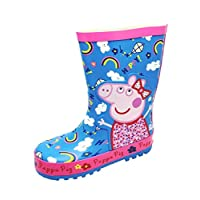 PEPPA PIG- Excellent Quality Welly Boots / Wellingtons (UK child size 7)