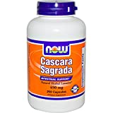 Now Foods Cascara Sagrada, 450 mg, 250 Capsules - UK Seller, 1 Units
