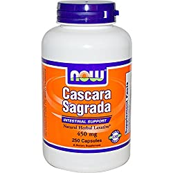 NOW Cascara Sagrada 450mg, 250 Stück
