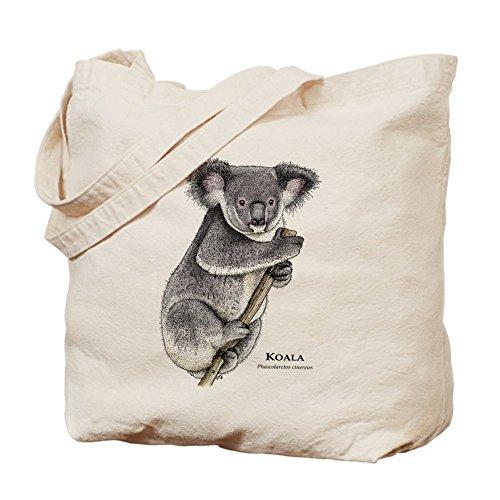 a–Leinwand Natur Tasche, Reinigungstuch Einkaufstasche (Kaufen Koala-bär)
