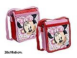 Bolso Bandolera Minnie Modelos Surtidos,una unidad DISNEY, 20x18x6cm.