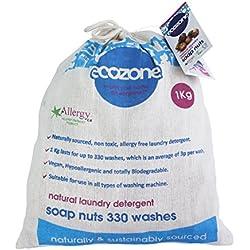 Nueces de detergente ecológico para ropa (1 kg, 330 lavados)