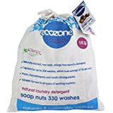 Ecozone Soap nuts - Indian Wash nuts - replaces laundry powder and detergents - great value 1kg bag - up to 330...