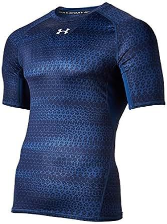 under armour heat gear. under armour heat gear printed short sleeve men\u0027s round neck t- shirt