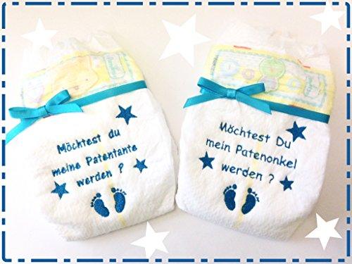 Useful Bestickte Windel Patentante Baby