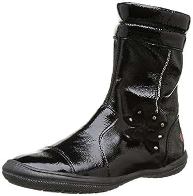 GBB Herine, Boots fille - Noir (31 Vvn Noir), 27 EU