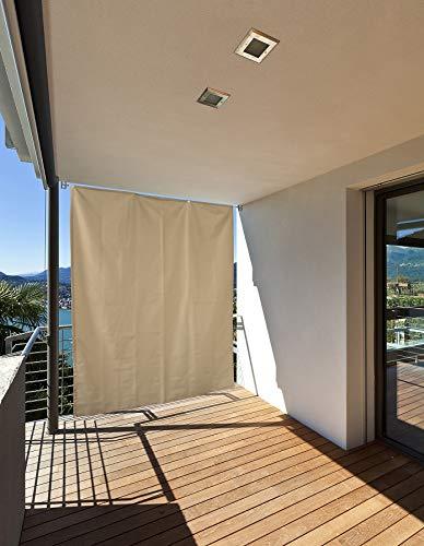 empasa Vertikaler Sonnenschutz Balkonsichtschutz Sonnensegel Quadrat Rechteck Windschutz Sichtschutz