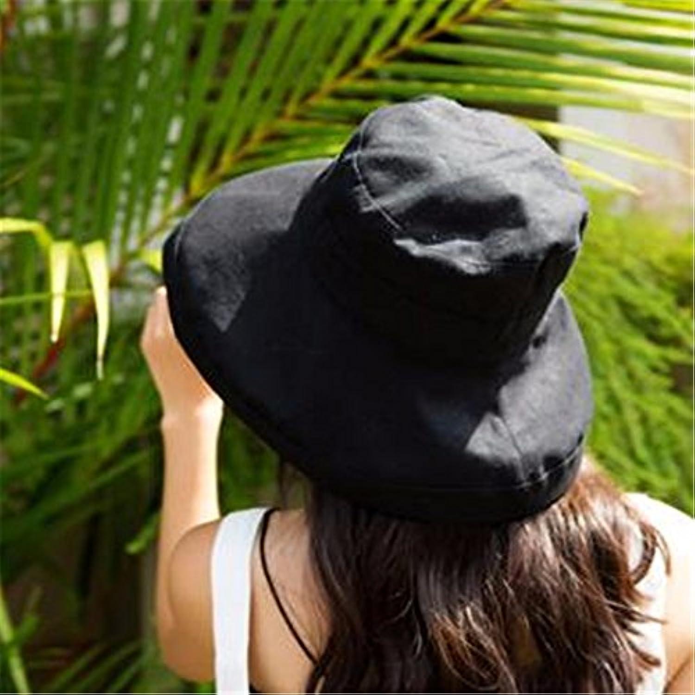 GAOQIANGFENG Outdoor Anti Anti Anti Ultraviola Sun Shading cap for Wouomo Summer Fashion,nero Parent bcff1a