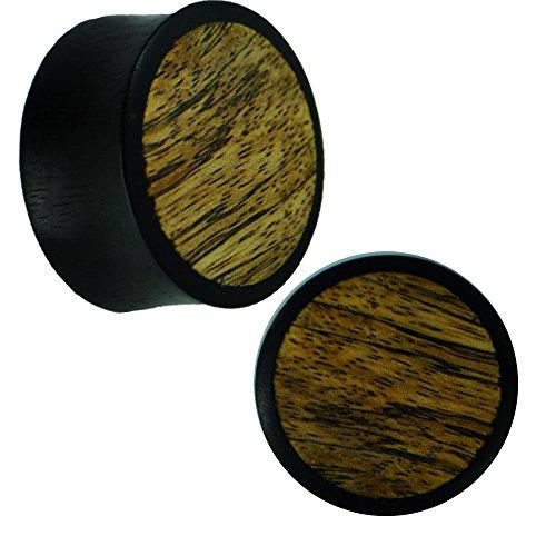 holz-plug-eisenholz-schwarz-helles-inlay-maserung-dunkel-tribal-piercing-10-mm