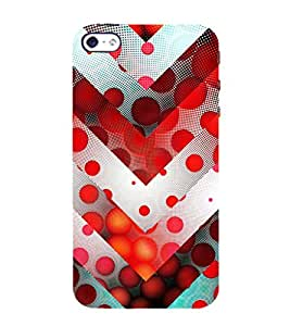 Animated Pattern of Chevron Arrows 3D Hard Polycarbonate Designer Back Case Cover for Apple iPhone 4 :: Apple iPhone 4S