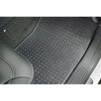 Puremats Toyota Sienna Floor Mats - 8 Seaters Only - Full Set + Cargo Mat - All Weather Heavy Duty - Crystal Clear - (2011-2017) by PUREMATS