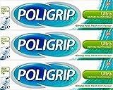 Poligrip Denture Fixative Cream Ultra 40g x 3 Packs