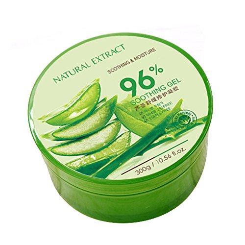 Oshide Aloe Vera Gel 300ml Für Gesicht Haut Und Haar Beruhigende Und Nährende Einfach In Der Anwendung