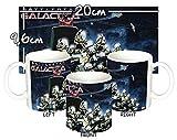 MasTazas Battlestar Galactica Estrella De Combate B Tazza Mug