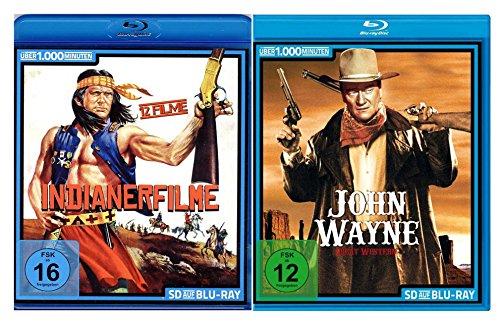 Die große Western - und Indianerfilme Collection (35 Klassiker auf SD Blu-rays)