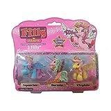 Lively Moments 3 Filly Stars Pferdchen mit Swarovskistein / Pferd / Einhorn / Spielzeug / Spielfiguren Aquarius, Hermia & Virginia