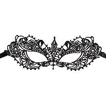 JUNGEN Máscara de Encaje de mujer Máscara glamorosa Máscara elegante para Halloween Mascarada Carnaval Fiesta de Baile Fiestas de Disfraces, Estilo 1
