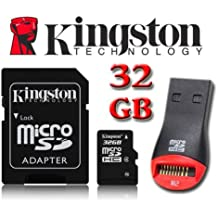 Kingston 32GB Micro SDHC Memory Card for HTC One Mini 2, Nokia Lumia 720, Lumia 810, Lumia 820, Lumia 822, Lumia 1520, Lumia 1320, Lumia 2520, Lumia 520, Lumia 525, Lumia 620, Lumia 625 By UkMobileAccessories