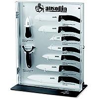 Ausonia–Vitrina para cuchillos vacío 9plazas con cierre a llave