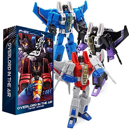 Transformer F-01 Starscream & Thundercracker & Skywarp