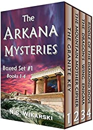 The Arkana Mysteries: Boxed Set #1: Books 1-4 (The Arkana Archaeology Mystery Thriller Series)