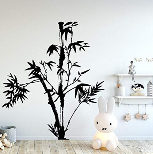 Home-source-bambus (Star source Cartoon Bambus Home Decoration Zubehör Wohnzimmer Schlafzimmer Wandtattoo Home Decor)