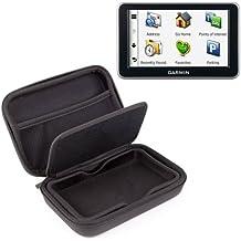 DURAGADGET Carcasa Protectora Para Navegador GPS Garmin N/üvi 2547 LMT Con Bolsillo De Rejilla Interno Y Separador Protector