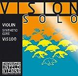 Thomastik-Infeld viso1Vision Violine Solo Saiten, einzelne E-Saite, 4/4Größe, mehrschichtige Stahldraht, Zinn vergoldet