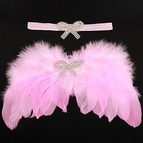 UGUAX Baby Engel Flügel Fotografie Requisiten Neugeborene Haar -