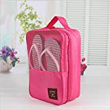 Generic blue : New Waterproof Brand Travel Storage Bag Set For Shoes Tidy Organizer Pouch Suitcase Home Closet Divider container FH146