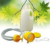 Careshine 1.700ml leichte Urinal Urin Flasche Urinsammler Urinale Flasche Sammelbehälter Reise Toilette für Mann (Farbe: Weiß)