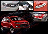 Premium-Quality-Chrome-Plated-Accessories-For-Ford-Ecosport-Set-Of-4-Pcs.
