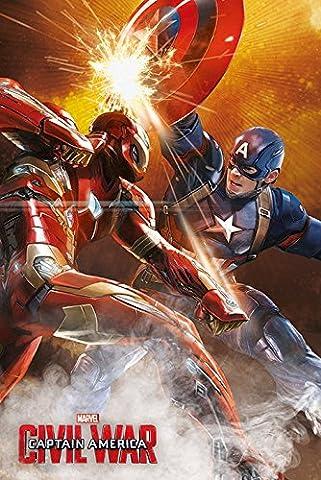 Spider-man Dans La Guerre Civile - Captain America