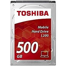 Toshiba L200 - Disco duro interno de 500 GB (6,4 cm (2,5), SATA)