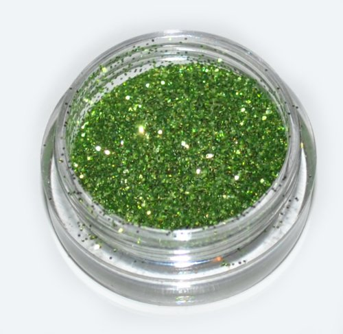 Green Sparkle Eye Shadow Loose Glitter Dust Body Face Nail Art Party Shimmer Make-Up by Kiara H&B (Eye Sparkle Dust)