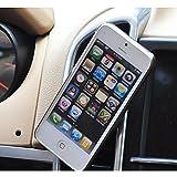 Support Telephone Voiture Support Voiture Universel Magnétique Support de Téléphone Airframe à grille aeration Pour iPhone 6s 6s plus 6 6 plus/5S 5C 5/Samsung Galaxy S6 Edge S5 S4 et iPad Mini