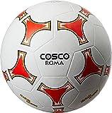 #8: Cosco Roma Foot Ball, Size 5  (White/Yellow)