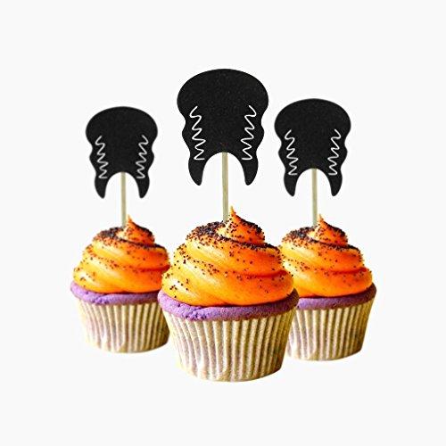 Cupcake-Topper mit Aufschrift
