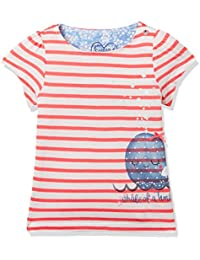 Mothercare Baby Girls' Striped Regular Fit T-Shirt