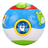 Arshiner Toddler Kids Magic Cube Cartoon Music Sound Ball With Light Educational Learning Toys