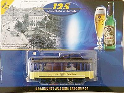 Straßenbahn-Modell - Einsiedler Brauerei Nr. 3 - Bautzener Triebwagen anno 1982 von Unbekannt