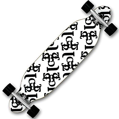 Skateboard - Longboard - Freeride Boards - Cruiserboard - Cruising Boards - Longboards mit Modellauswahl (Typografie)