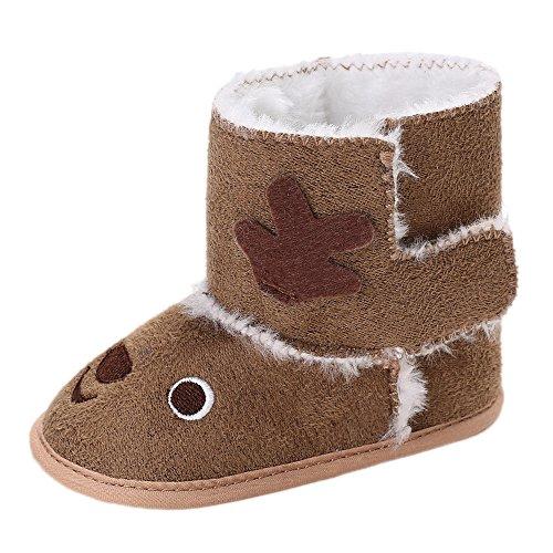 c0a8517204c0d Chaussures Bébé Binggong Chaussures d hiver Bébé en Bas âge de Noël Orignal  pour Bébé
