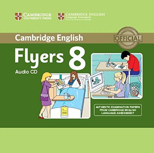 Cambridge English Young Learners 8 Flyers Audio CD
