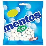 Mentos zähe Dragees Mint 135g (Packung mit 12 x 135g)